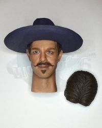Redman Toys The Cowboy Doc: Headsculpt With Cowboy Hat & Hair Replacement