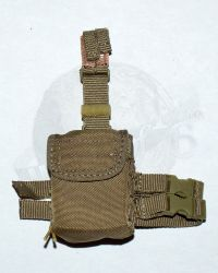 "Soldier Story Iraq Special Operations Forces ""ISOF"": Tactical Drop Leg Dump Pouch (Tan)"