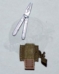 "Soldier Story Iraq Special Operations Forces ""ISOF"": Multi-Tool & Pouch (Tan)"