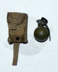 "Soldier Story Iraq Special Operations Forces ""ISOF"": Paraclete Grenade Molle Pouch With M67 Hand Grenade (Tan)"