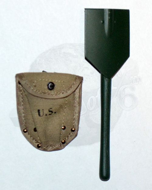 Soldier Story US Army 28th Infantry Division Machine Gunner Arden 1944: M-43 Entrenching Tool With Cover (Metal)