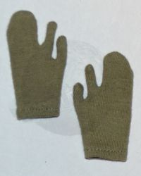 Soldier Story US Army 28th Infantry Division Machine Gunner Arden 1944: Wool Mitten Liners (OD)