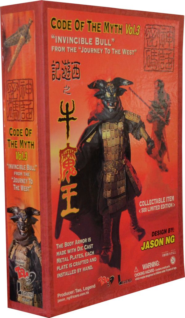TAO Legend The Fantasy Code Invincible Bull