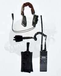 Very Hot Toys PMC Private Military Contractor: Radio with Headset & Pouch