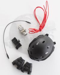 Very Hot Toys The Last No More: FAST Carbon Helmet With GPNVG18 & Battery Pack