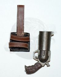 Wolf King Western Story Redhead Denny: Large Barrel Pistol With Holster