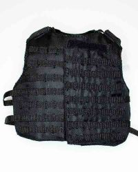 Wolf King Tough Guy: Tactical Molle Vest (Black)