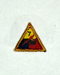 Dragon Models Ltd. WWII US Army Tanker 7th Patch