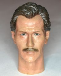 Custom Resin Painted Detective Gordon Headsculpt (Gary Oldman Likeness)