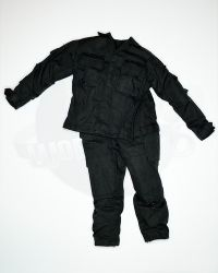 Toy Soldier Uniform Shirt & Trousers (Black)